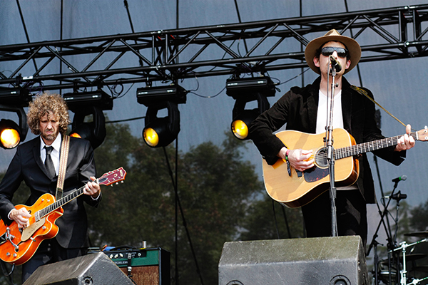 Jakob Dylan on the ATT&T Stage at ACL
