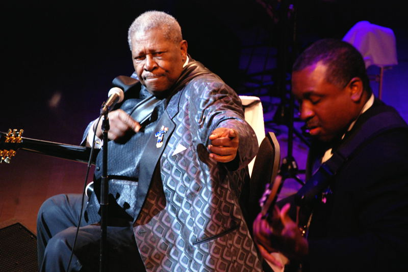 B.B. King at Roy Thompson Hall.  May 11, 2007