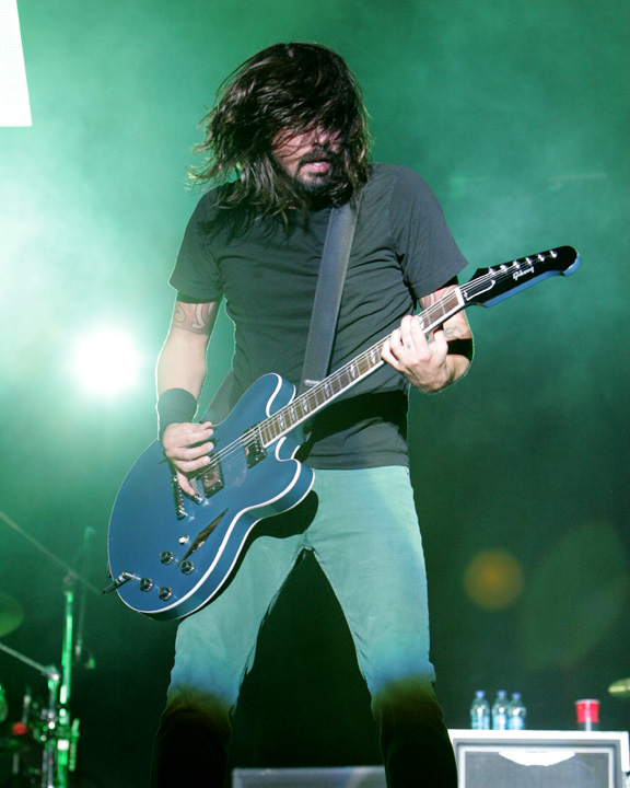 Dave Grohl of the Foo Fighters at ACL Fest 2008