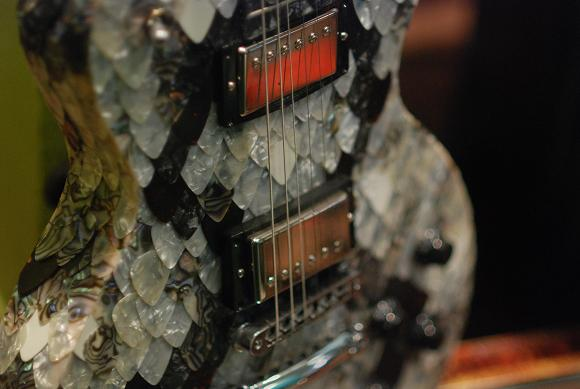 cool guitar at SXSW